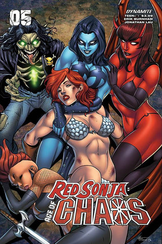 RED SONJA AGE OF CHAOS #5 GARZA VARIANT