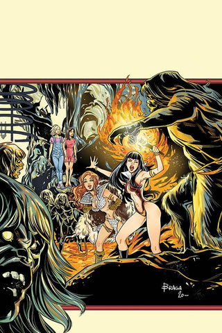 RED SONJA AND VAMPIRELLA MEET BETTY AND VERONICA #12 1/30 BRAGA VIRGIN VARIANT