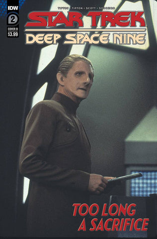 STAR TREK DEEP SPACE NINE TOO LONG A SACRIFICE #2 VARIANT