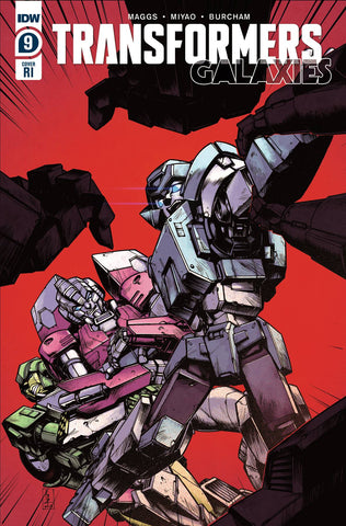 TRANSFORMERS GALAXIES #9 1/10 ZAMA VARIANT