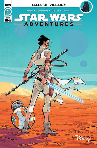 STAR WARS ADVENTURES (2020) #1 1/10 KYRIAZIS VARIANT