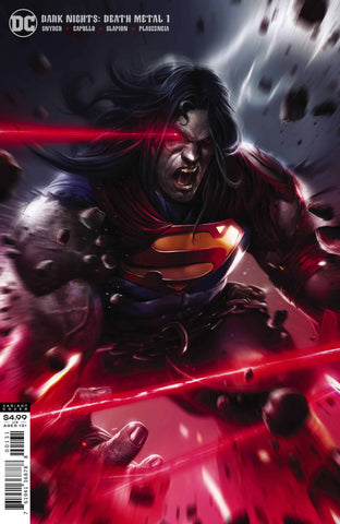 DARK NIGHTS DEATH METAL #1 MATTINA SUPERMAN VARIANT