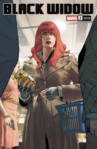 BLACK WIDOW #2 DE IULUS VARIANT