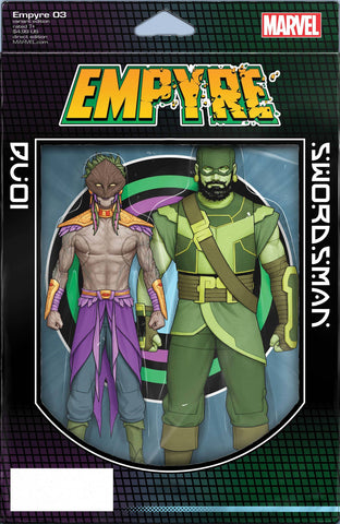 EMPYRE #3 CHRISTOPHER ACTION FIGURE VARIANT