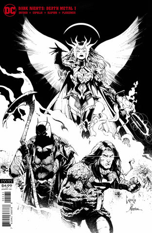 DARK NIGHTS DEATH METAL #1 MIDNIGHT PARTY VARIANT