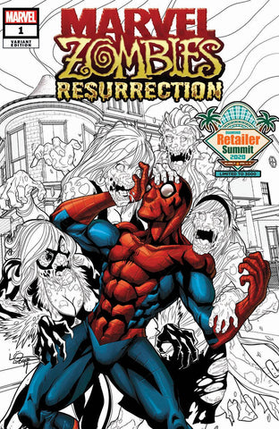 MARVEL ZOMBIES RESURRECTION #1 RETAILER SUMMIT 2020 LUBERA VARIANT