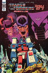TRANSFORMERS 84 SECRETS & LIES #3 1/10 ROCHE VARIANT