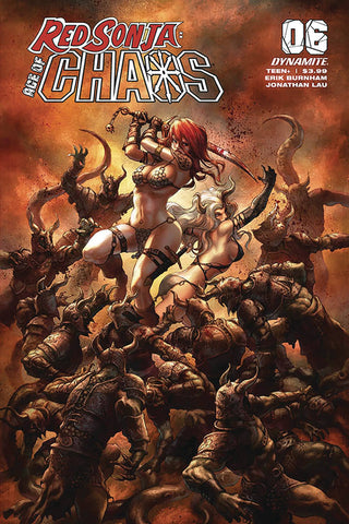 RED SONJA AGE OF CHAOS #6 QUAH VARIANT