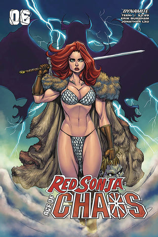 RED SONJA AGE OF CHAOS #6 GARZA VARIANT