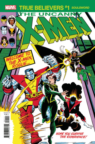 TRUE BELIEVERS X-MEN SOULDSWORD #1