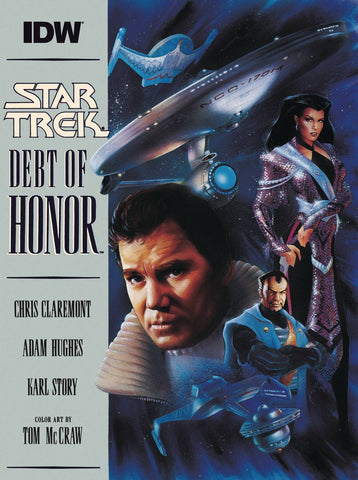 STAR TREK DEBT OF HONOR FACSIMILE ED