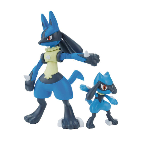 POKEMON RIOLU & LUCARIO MODEL KIT