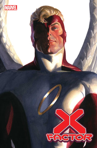 X-FACTOR #4 ALEX ROSS ANGEL TIMELESS VARIANT