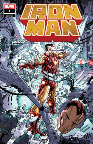 IRON MAN #1 WEAVER VARIANT