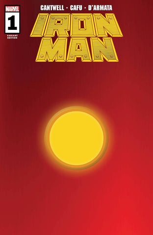 IRON MAN #1 1/200 RED GOLD VARIANT