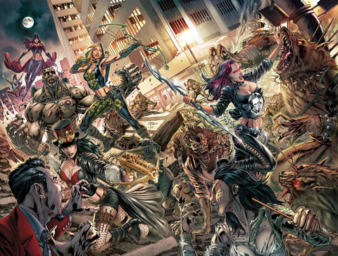VAN HELSING VS THE LEAGUE OF MONSTERS #6 VITORINO VARIANT