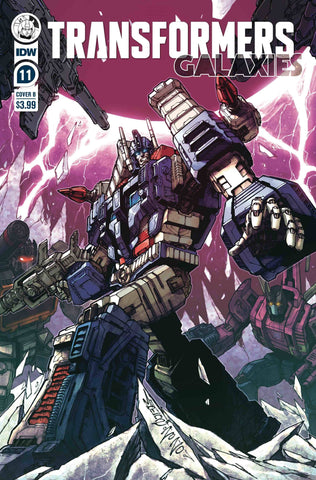 TRANSFORMERS GALAXIES #11 VARIANT