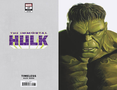 IMMORTAL HULK #37 ALEX ROSS HULK TIMELESS VARIANT