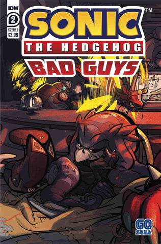 SONIC THE HEDGEHOG BAD GUYS #2 VARIANT