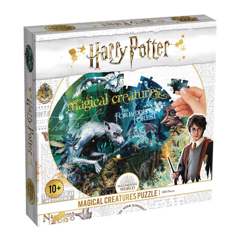 HARRY POTTER MAGICAL CREATURES 500PC PUZZLE