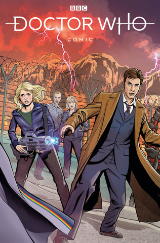 DOCTOR WHO COMICS #1 JONES VARIANT