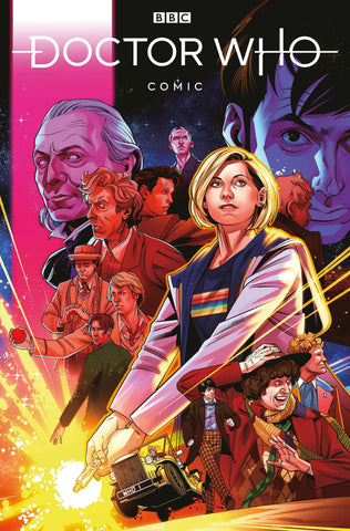 DOCTOR WHO COMICS #1 STOTT VARIANT