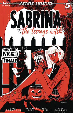 SABRINA SOMETHING WICKED #5 ANDY FISH VARIANT