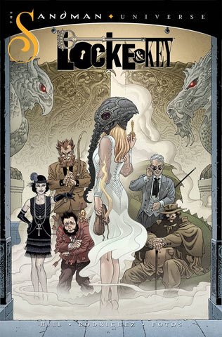 LOCKE & KEY/SANDMAN HELL & GONE #1 RODRIGUEZ