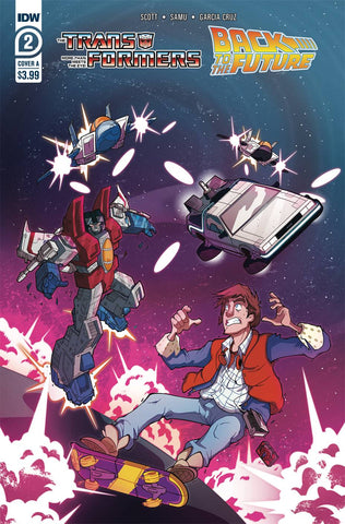 TRANSFORMERS BACK TO FUTURE #2 VARIANT