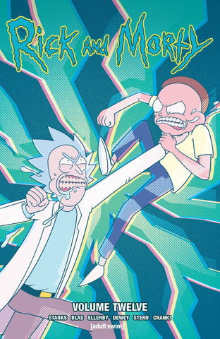 RICK AND MORTY TPB VOL 12
