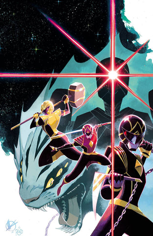 POWER RANGERS #1 (#57) SCALERA