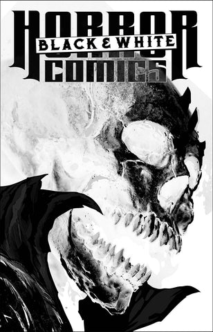 HORROR COMICS BLACK AND WHITE #1