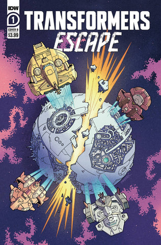 TRANSFORMERS ESCAPE #1 VARIANT