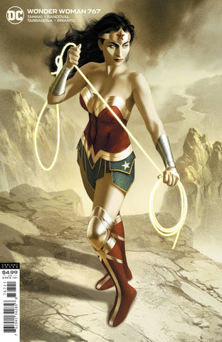 WONDER WOMAN #767 CARD STOCK VARIANT
