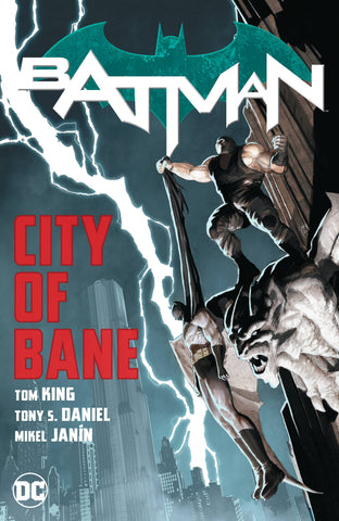 BATMAN (REBIRTH) TPB VOL 12-13 CITY OF BANE COMPLETE COLLECTION