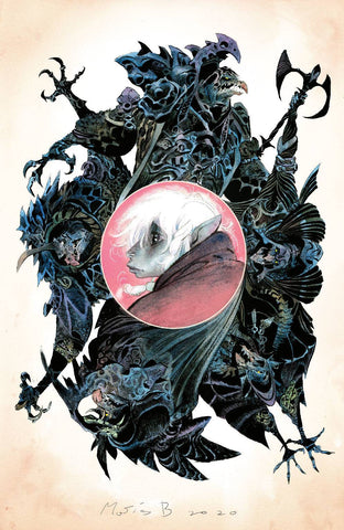 JIM HENSON'S THE DARK CRYSTAL: AGE OF RESISTANCE #11 BERGARA VARIANT