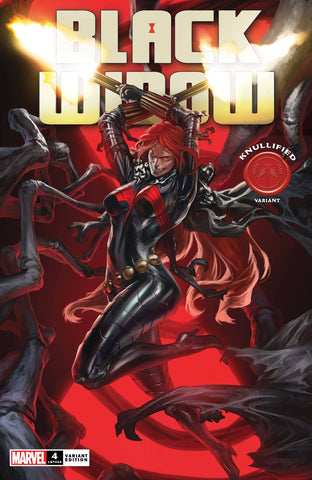 BLACK WIDOW #4 SKAN KNULLIFIED VARIANT