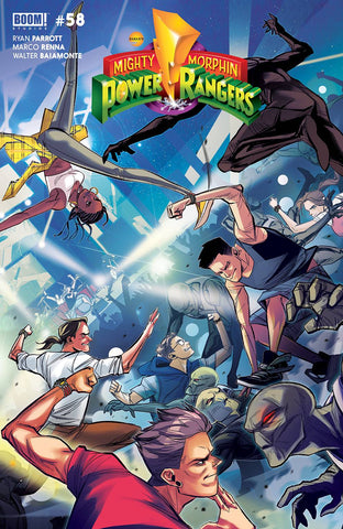 MIGHTY MORPHIN #2 (#58) CARLINI LEGACY VARIANT
