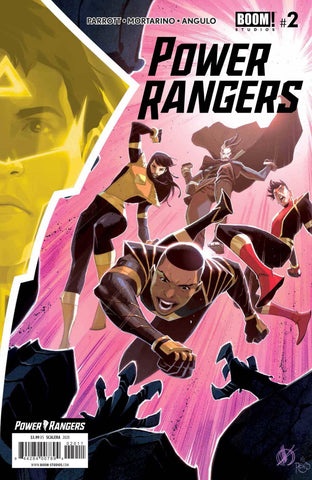 POWER RANGERS #2 (#59) SCALERA