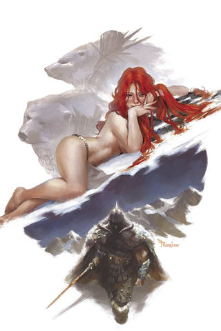 CIMMERIAN THE FROST GIANT'S DAUGHTER #2 1/10 MERCADO VIRGIN VARIANT