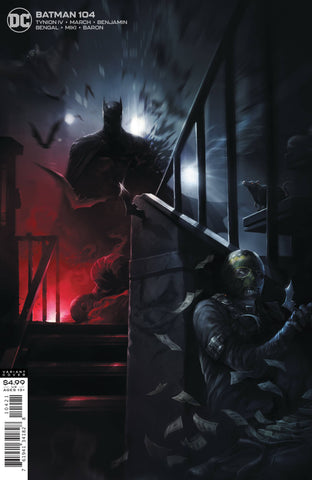 BATMAN #104 CARD STOCK VARIANT