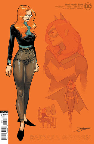 BATMAN #104 1/25 BARBARA GORDON DESIGN VARIANT