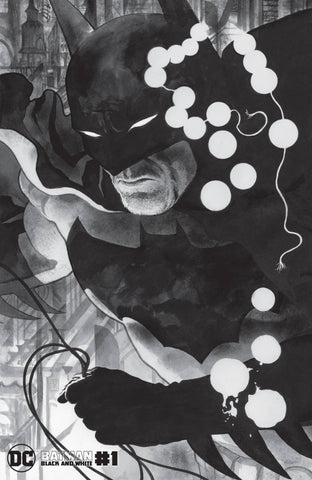 BATMAN BLACK AND WHITE #1 WILLIAMS III VARIANT