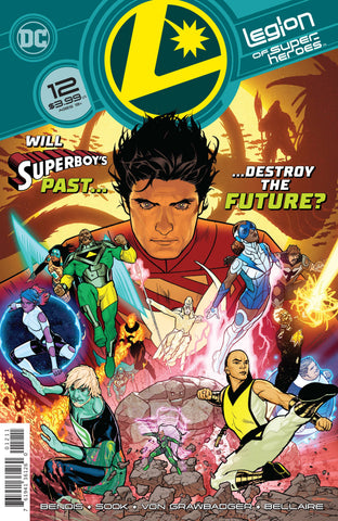 LEGION OF SUPER HEROES #12
