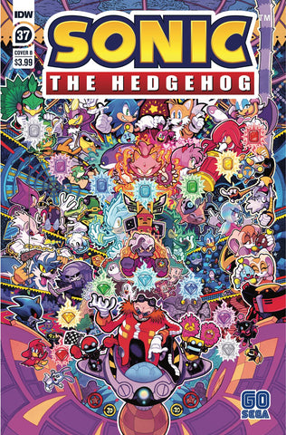 SONIC THE HEDGEHOG #37 VARIANT