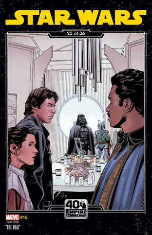 STAR WARS #10 SPROUSE EMPIRE STRIKES BACK VARIANT