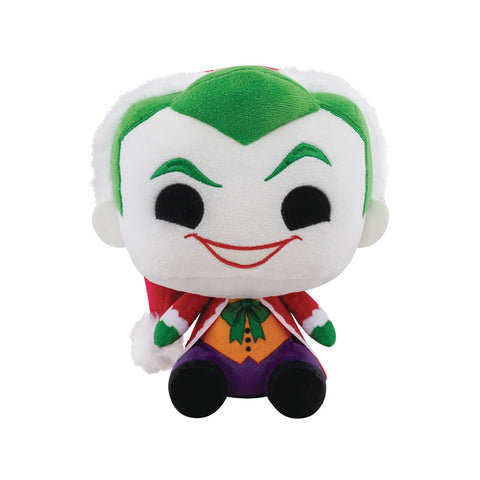 DC HOLIDAY SANTA JOKER PLUSH