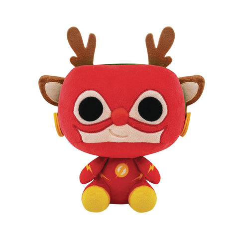 DC HOLIDAY RUDOLPH FLASH PLUSH