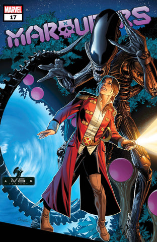 MARAUDERS #17 LARROCA MARVEL VS ALIEN VARIANT