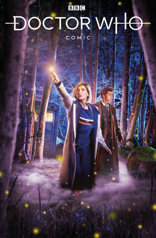 DOCTOR WHO COMICS #4 PHOTO VARIANT